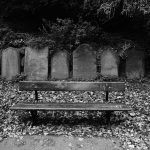 St James Garden - an empty bench - or is it?